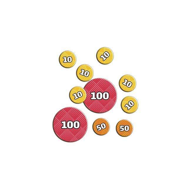 Pokemon damage tokens