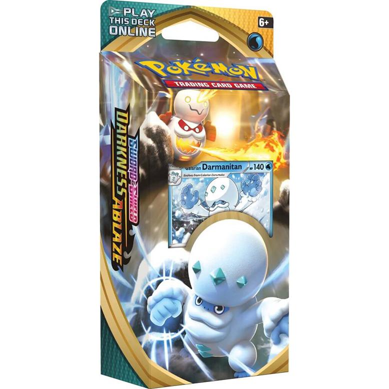 POKÉMON TCG Sword And Shield- Darkness Ablaze Theme Deck - Galarian Darmanitan