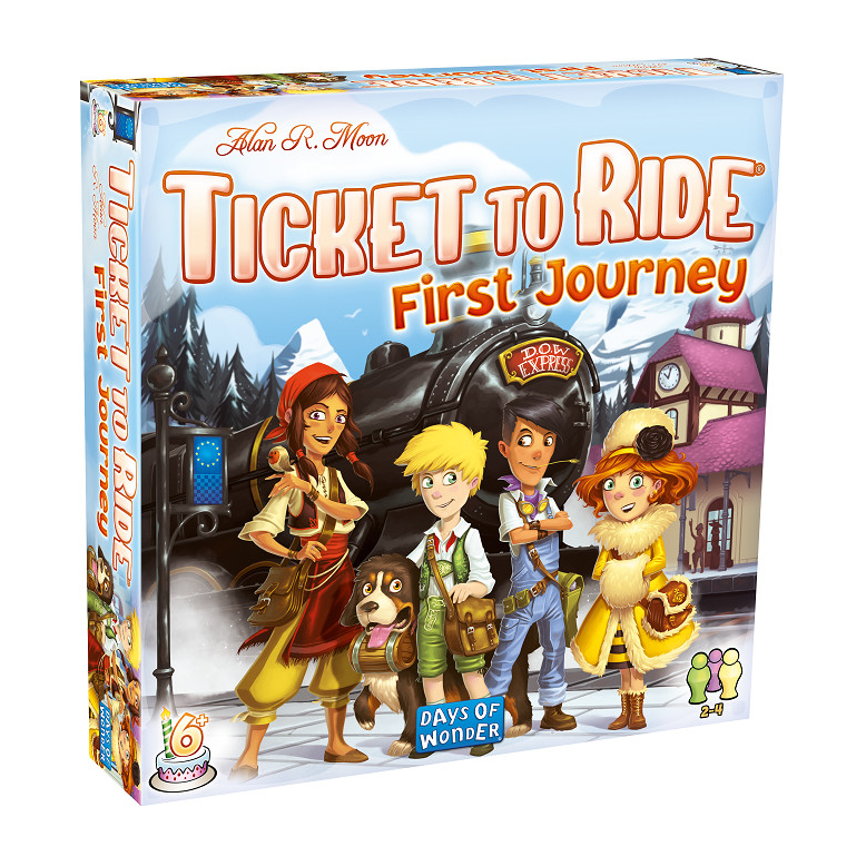 Ticket to Ride: First Journey (Europe) Board Game