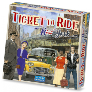 Ticket to Ride New York Board Game