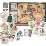 Western Legends Board Game Contents
