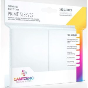 White Gloss Card Sleeves