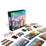 7 Wonders New Edition Board Game Components