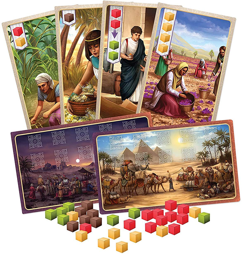Century Spice Road Board Game Content