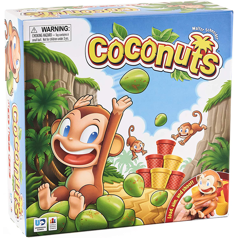Coconuts Childrens Board Game