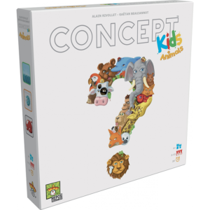 Concept Kids Animals Childrens Board Game