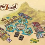 Cooper Island Board Game Contents