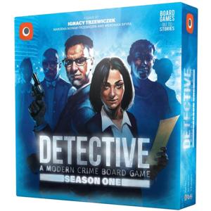 Detective A Modern Crime Board Game Season One Board Game