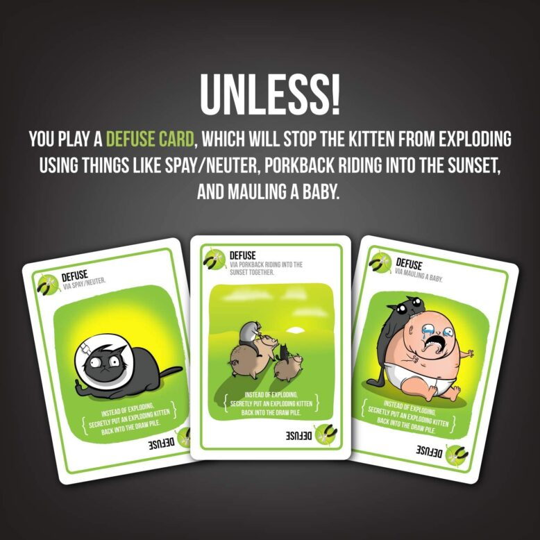Exploding Kittens NSFW Party Game How to Play 3