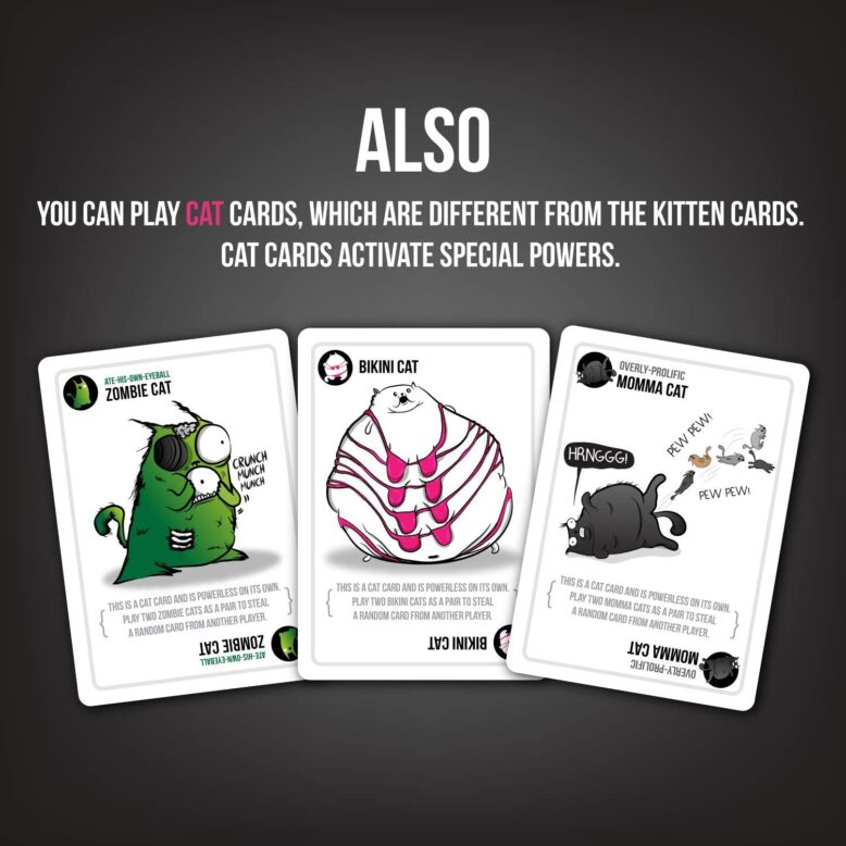 Exploding Kittens NSFW Party Game How to Play 4