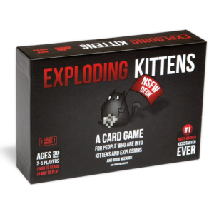 Exploding Kittens NSFW Party Game