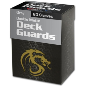 Grey Deck Guard Box with-80 Sleeves