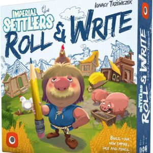 Imperial Settlers Roll and Write Board Game