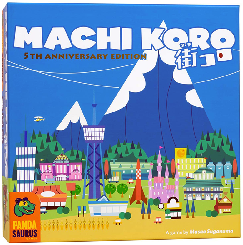 Machi Koro 5th Anniversary Board Game