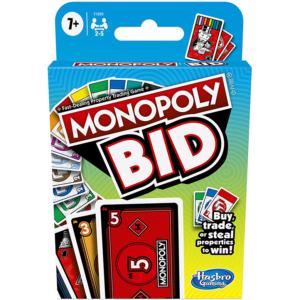 Monopoly Bid Card Game