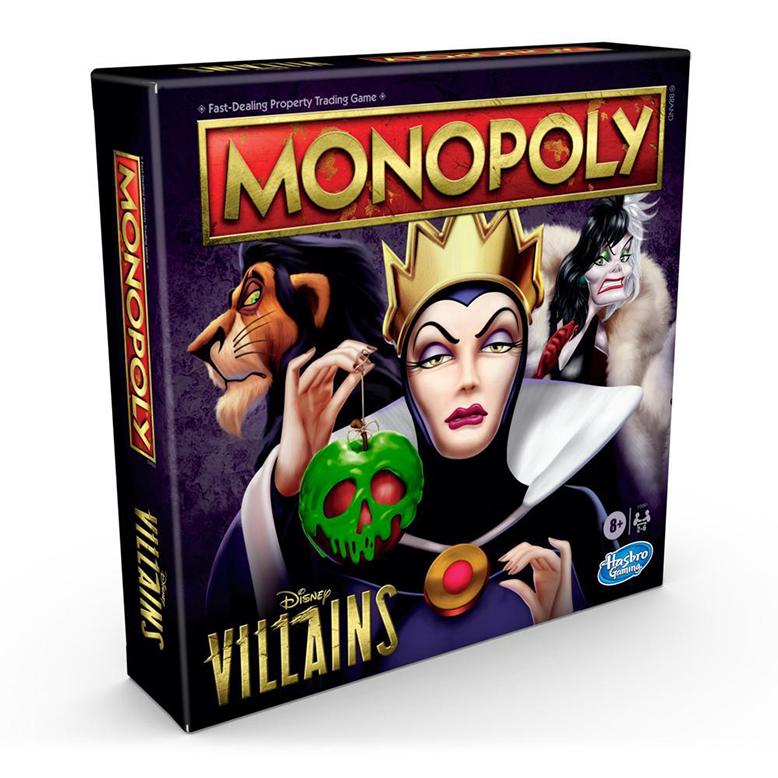 Monopoly Disney Villains Board Game