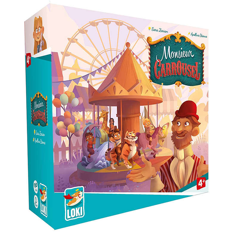 Monsieur Carrousel Board Game