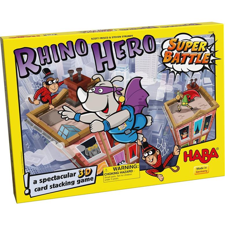 Rhino Hero Super Battle Childrens Family Board Game