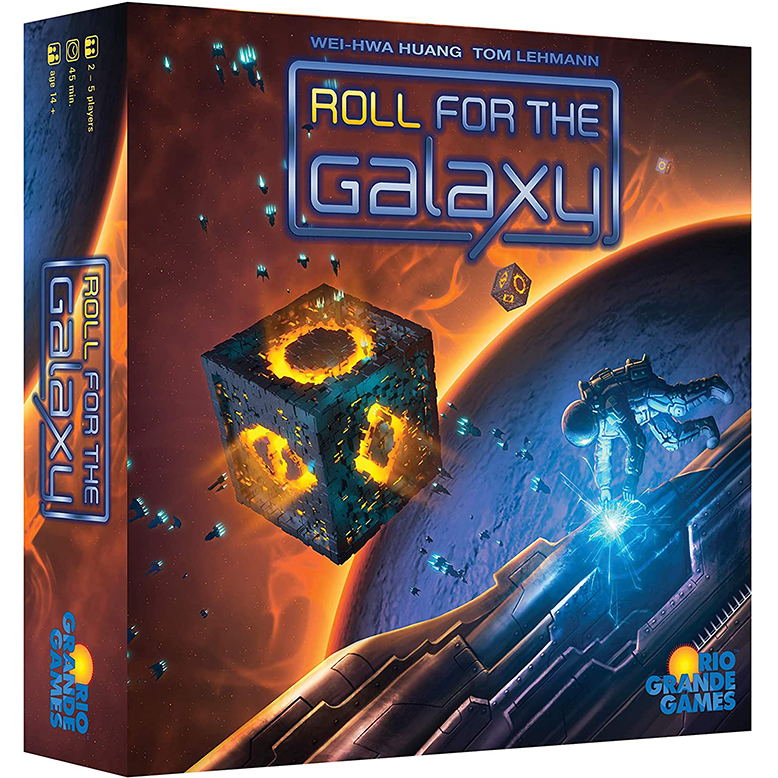 Roll for the Galaxy Dice Game