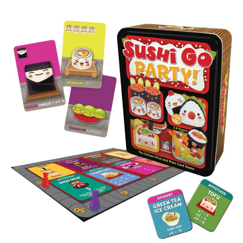 Sushi Go Party Card Game