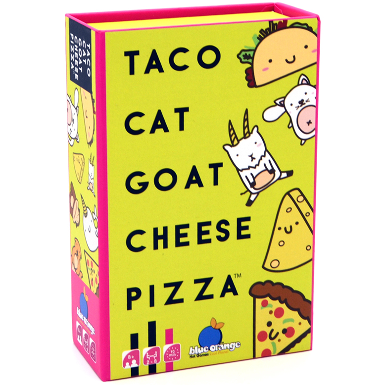 Taco Cat Goat Cheese Pizza Party Game