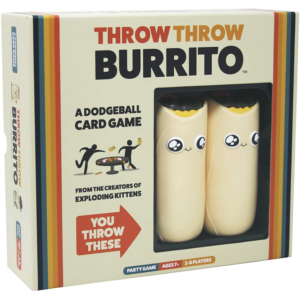 Throw Throw Burrito Party Game