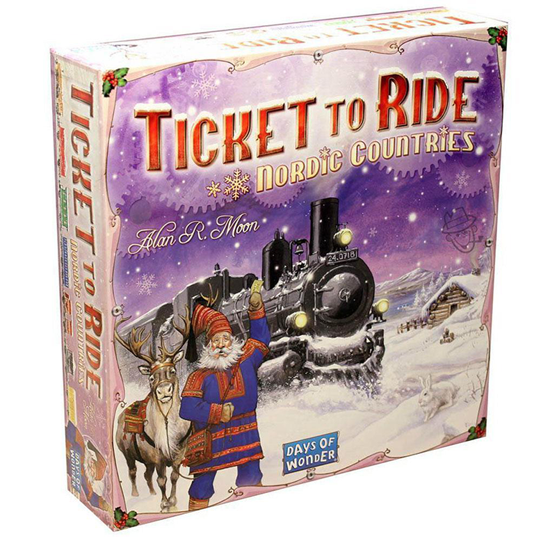 Ticket to Ride Nordic Countries Board Game