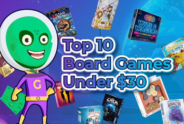 Top 10 Board Games Under $30 Thumbnail Image