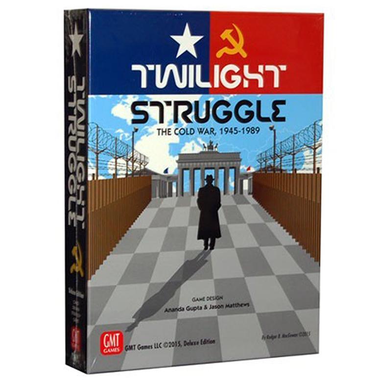 Twilight Struggle Deluxe Board Game Wargame