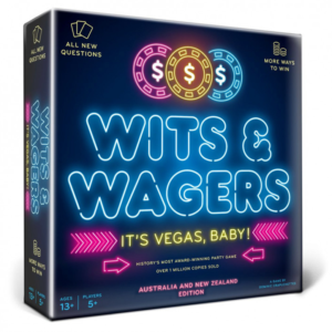 Wits & Wagers It's Vegas Baby Australia New Zealand Edition