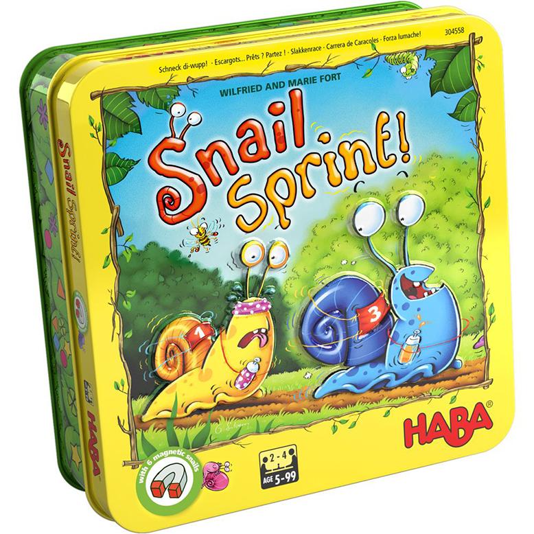 snail sprint childrens board game