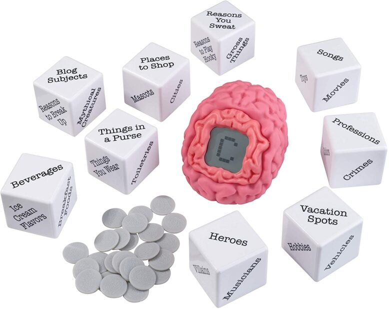 Brain Fart Party Game Contents