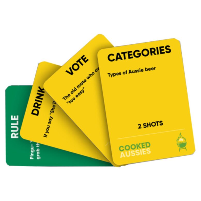 Cooked Aussies Party Game