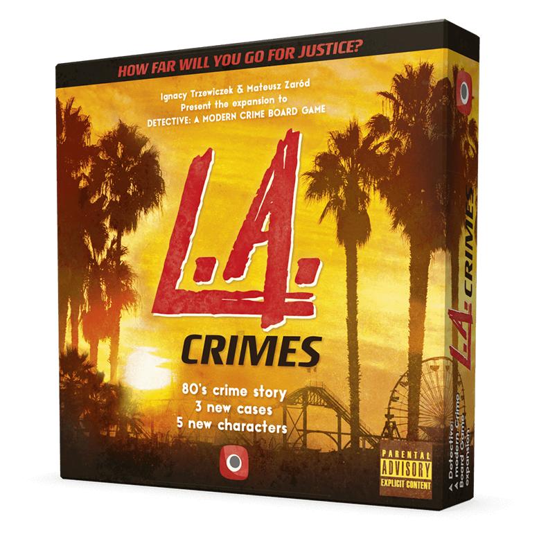 Detective L.A Crimes Board Game