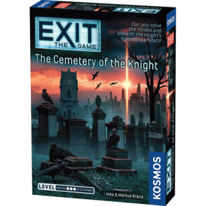 Exit the Game the Cemetery of the Knight Board Game