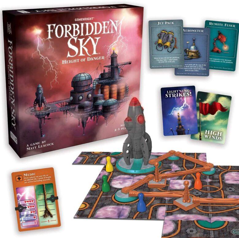Forbidden Sky Board Game Contents