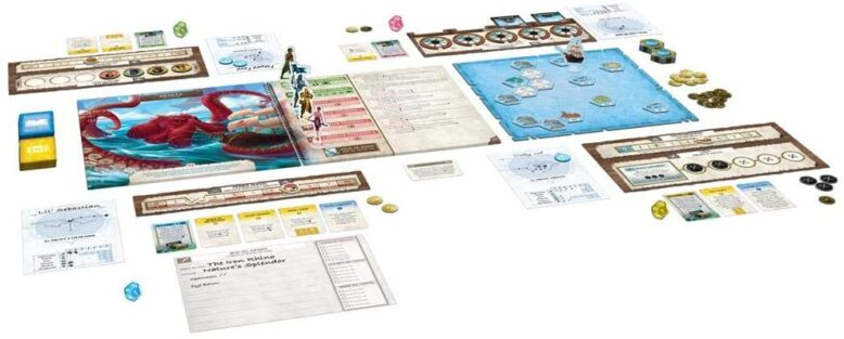 Forgotten Waters Board Game
