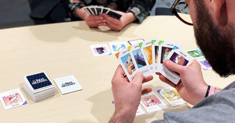 Llamas Unleashed Card Game