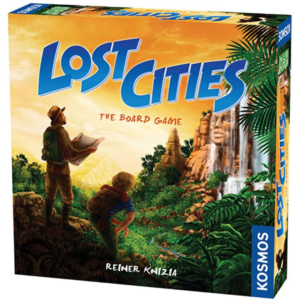 Lost Cities the Board Game