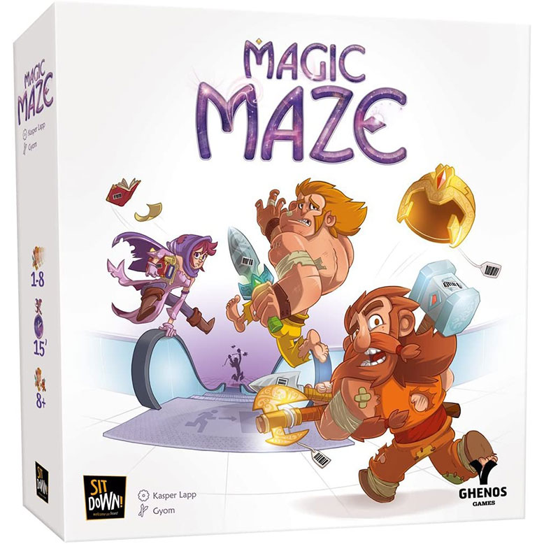 Magic Maze Board Game