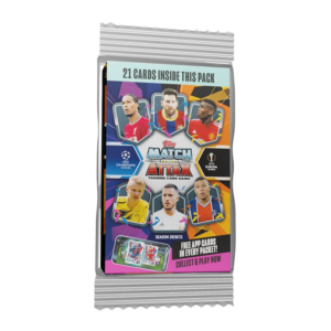 Match Attax TCG Topps: UEFA Champions League 2020/2021 Edition 3 Pack Blister