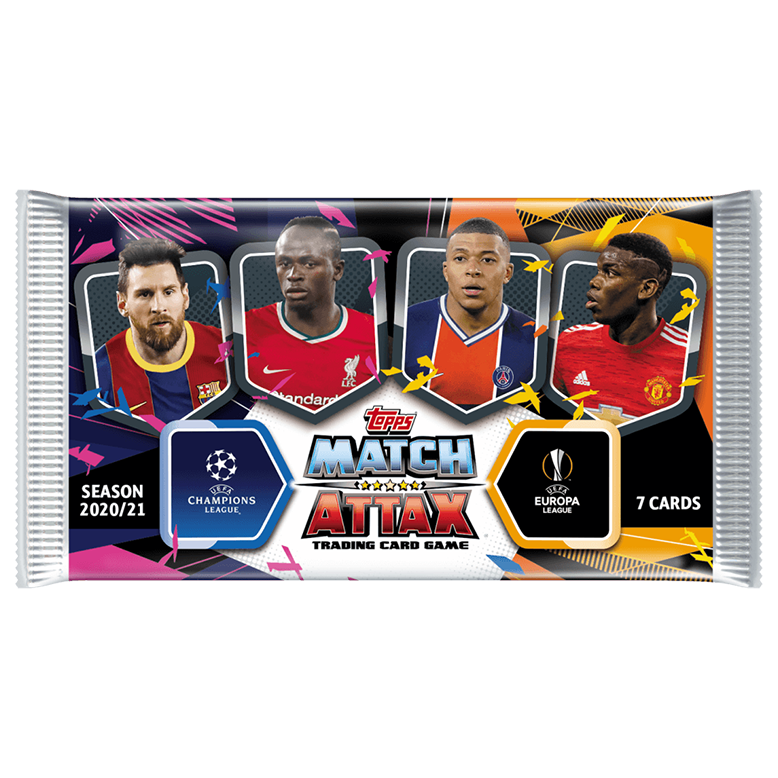 Match Attax TCG Topps UEFA Champions League 2020/2021 Pack