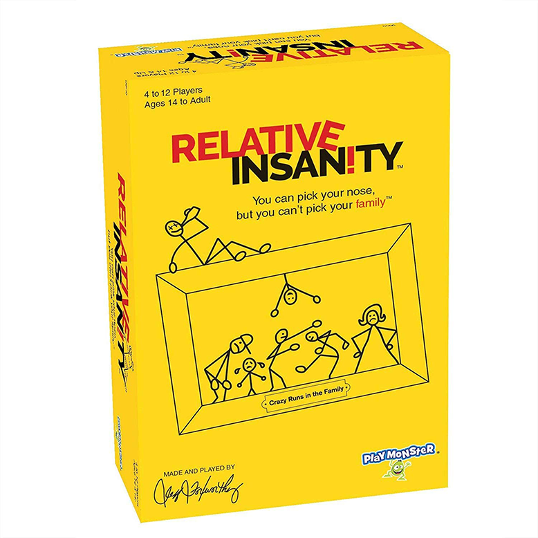 Relative Insanity Card Game