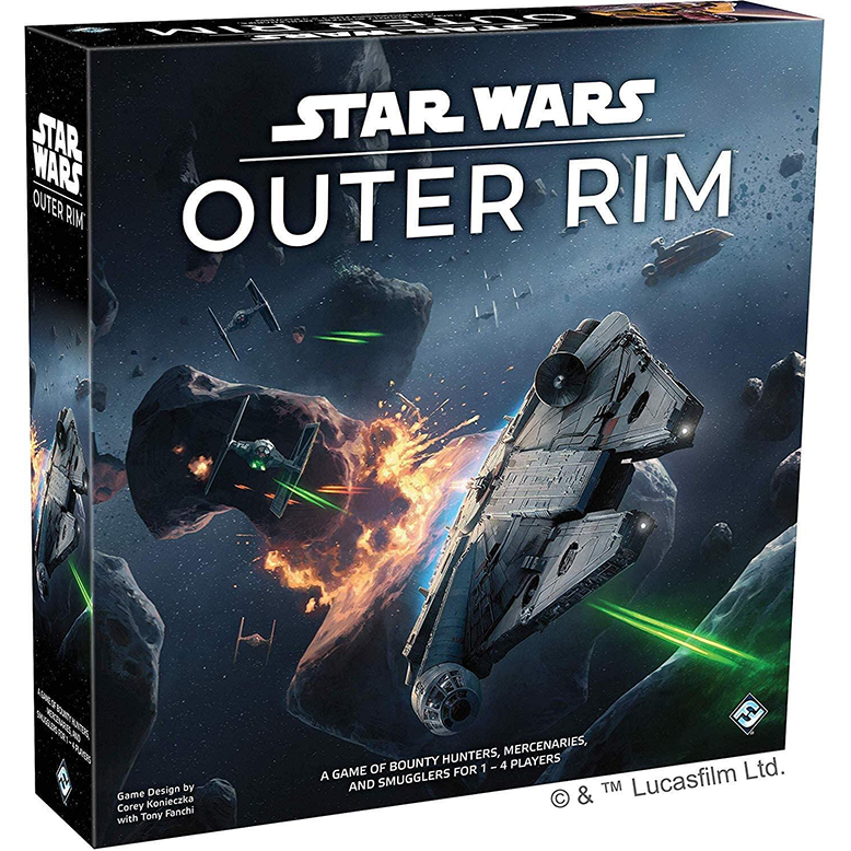 Star Wars Outer Rim Board Game