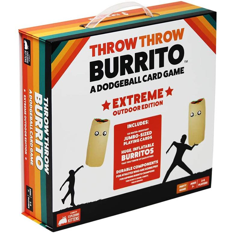 Throw Throw Burrito Extreme Edition Party Game