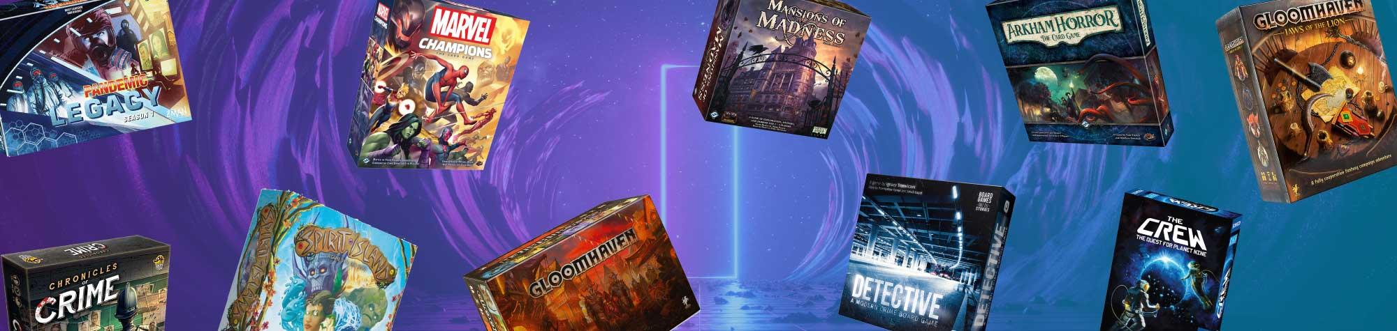 Top 10 Cooperative Board Games