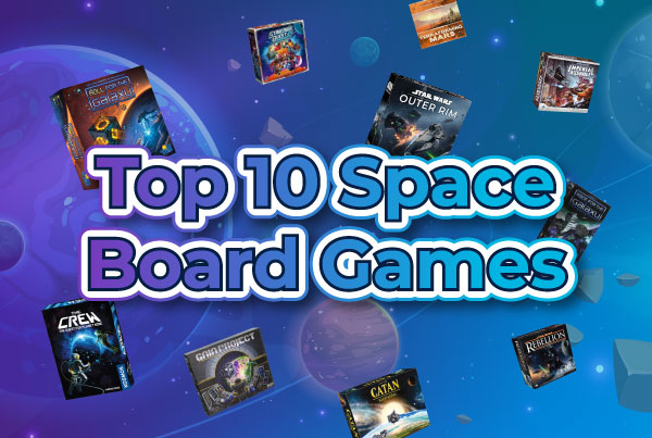 Top 10 Space Board Games