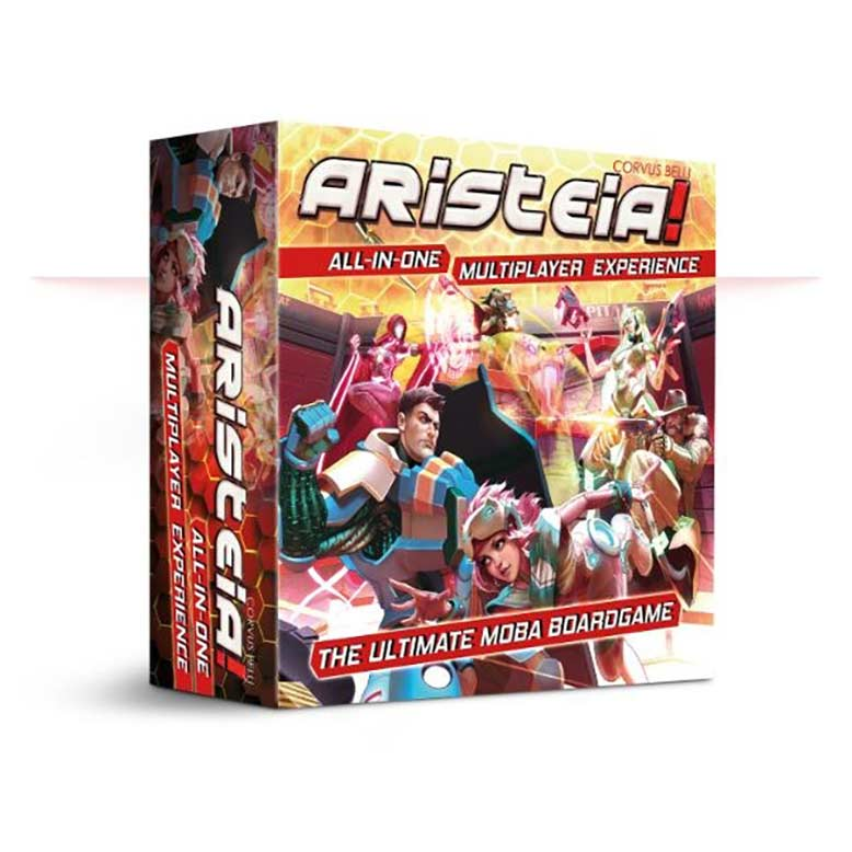 Aristeia!-All-In-One Board Game