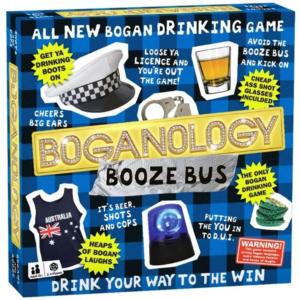 Boganology Booze Bus Board Game