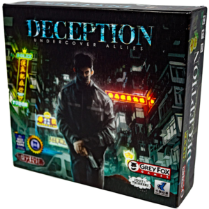 Deception Undercover Allies Board Game